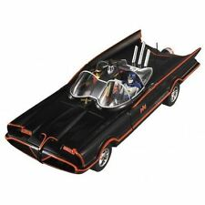 1 18 Hot Wheels DJJ39 TV 1966 Batmobile With Batman & Robin Figurines