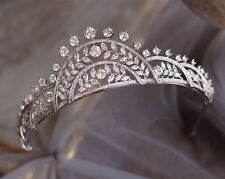 Luxury Zircon Crown Bridal Jewelry Wedding Headbands Tiara Hair Accessories Prom