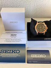 Seiko Men's Premier Chronograph Kinetic Watch SNL044P1