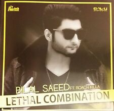 BILAL SAEED FT ROACH KILLA -LETHAL COMBINATION - BRAND NEW REMIX CD FREE UK POST