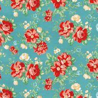 NEW Pioneer Woman Anti-pill Fleece Vintage Floral Print Fabric  - 1.95 Yards