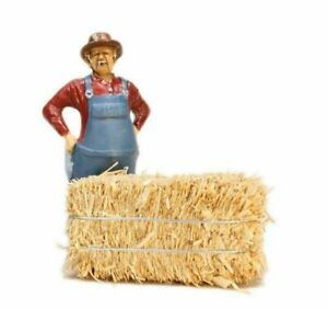 "Hay Bales - G Scale - Real Hay - 2"" Long - Set of Three Bales - 101-0802"