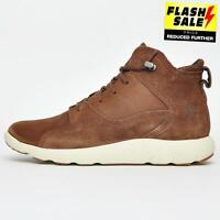Timberland FlyRoam Hiker Leather Urban Outdoor Lace Up Boots Mens Brown B Grade