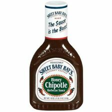 Sweet Baby Ray's Honey Chipotle Barbecue Sauce 18 oz Bottle