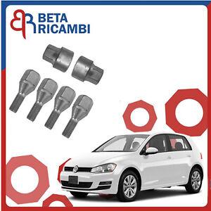 Kit Bulloni Antifurto Per VW Golf V Ruote In Lega o Acciaio