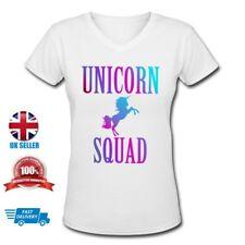 Unicorn Squad Womens Ladies Adult White Sweet T-shirt  Size L SALE!!!
