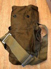 (Lot of 4) Russian / Soviet Military Surplus Gas Mask Vintage Bag, Snack, Hiking
