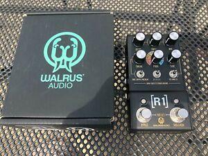 Walrus Audio Mako Series R1 High Fidelity Stereo Reverb Pedal