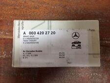 MERCEDES-BENZ OEM 09-11 SLK300 Brake-Rear Disc Pads 0034202720
