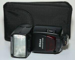 Nikon SB 800 Speedlight gebraucht TOP-Zustand 19% MwSt. ausweisbar