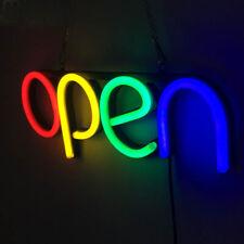 Open Sign Led Neon Light Business Light Bar Club Wall Decor Art Sign Light Sale