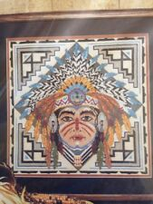 Indian Mask Picture  Something Special counted cross stitch kit , sealed #50791