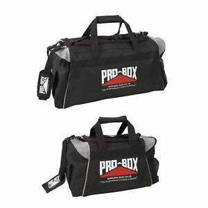 Pro Box Boxing Holdall Gym Bag Rucksack Martial Arts Kit Gear Bag Adult Kids