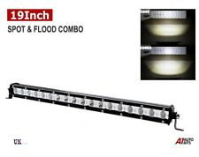 54w Led Work Light Bar Flood Spot Combo Truck Suv Offroad 4wd Lamp Atv 12v 24v