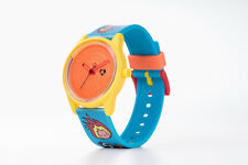 OROLOGIO SMILESOLAR Q&Q BY CITIZEN ECO DRIVE SOLARE YELLOW BLU RP00J840Y