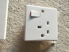 Single White Switch And Socket