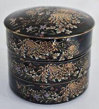 Antique Japanese Ceramic holders hand painted