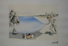 Salvador Dalì, Moi-meme, acquaforte, 58x80cm, autentica, firmata