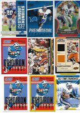 Barry Sanders, 28 Different Card Lot   /  Inserts