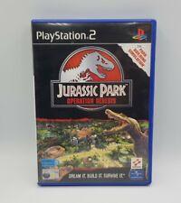 Boitier Box Jurassic Park Operation Genesis PS2 FR