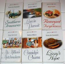 Lot of 6 Heartsong Presents inspirational romance books #1375