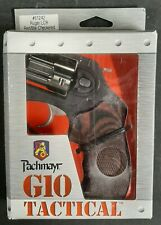 Pachmayr Ruger LCR Fingergrooved Red/Black Checkered G10 Grip 61242