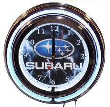 Subaru Car Neon Clock New Wall Clock Lifestyle Lighting