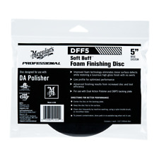 "Meguiar's Professional Soft Buff Foam Finishing Disc 5"" Car Crazy No Swirls DFF5"