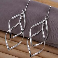 EPIC FASHION-  Sterling Silver Advant Leaf Earrings