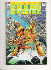 Magnus Robot Fighter #4 1ST APP RAI! Pre-Unity 1991 Valiant TOUGH BOOK Low Print
