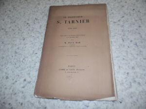 1897.le professeur Stéphane Tarnier.obstétrique.Paul Bar