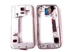 Marco intermedio para Samsung Galaxy s5 g900f i9600 carcasa Middle housing plata