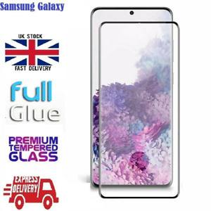 Samsung S10 S20 Note10 Note 20 Full Glue Screen Protector Fingerprint with Hole