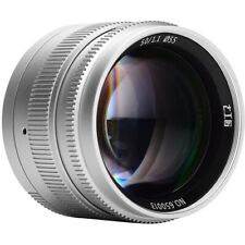 7artisans Photoelectric 50mm f/1.1 Lens for Leica M Mount - Silver #A401S