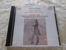 PAGANINI VIOLIN CONCERTOS NOS 1 & 2 - ILYA KALER 1992 - NAXOS CD