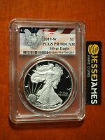 2019 W PROOF SILVER EAGLE PCGS PR70 DCAM FLAG LABEL