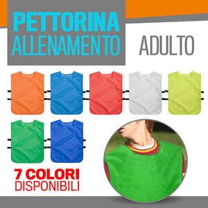 PETTORINA ALLENAMENTO casacca calcio fratino casacche sport calcetto      PPM820