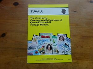 Urch Harris Tuvalu Catalogue of Queen Elizabeth II Stamps 1st Edition 1981