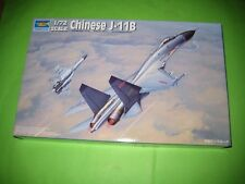 CHINESE J-11 B (SU-27 B) FLANKER BY TRUMPETER 1/72 - REF.1672