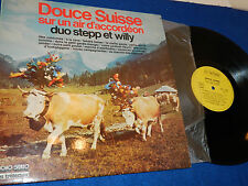 LP douce suisse ACCORDEON orgue MUSIQUE SUISSE swiss musik DUO STEPP & WILLY