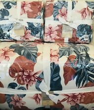 Pottery Barn Roxy Sun Soaked Reversible King Comforter Quilt Shams Floral