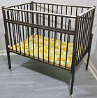 GRACO PORT-A-CRIB 1970s VINTAGE BABY CRIB COMPACT WOODEN FOLDING COMPLETE IN BOX
