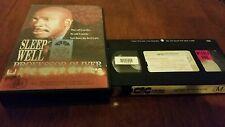 SLEEP WELL PROFESSOR OLIVER -GIDEON OLIVER,LOUIS GOSSETT JR,RARE 1989 NOT ON DVD