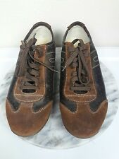 Geox Respira Men s Shoes Size 43.5 Sport Trainers Sneaker Trainers Tan Leather