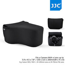 JJC 20*15*11(cm) Neoprene Black Compact Camera Case for Canon Nikon Fujifilm SLR