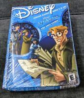 Disney Junior Games Atlantis The Lost Empire Lost Games PC Mac CD-ROM New
