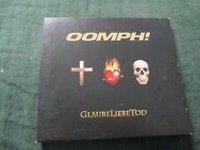 """CD DIGIPACK """"GLAUBELIEBETOD (GLAUBE LIEBE TOD)"""" Oomph!"""