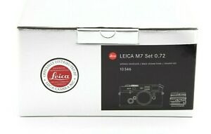 Leica M7 Set 0.72 Box Only #B1048