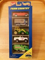1996 Hot Wheel 5-Pack FARM COUNTRY VEHICLES Gift Pack #17455