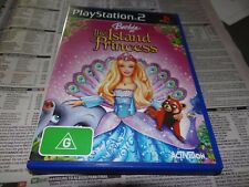 BARBIE AS THE ISLAND PRINCESS PLAYSTATION 2 *GOING CHEAP*